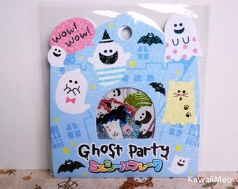 CRUX Sticker Flakes - Ghost Party - 52 Pieces (05271)