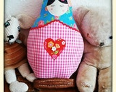 Russian doll cushion...