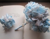 Vintage Fabric Flowers * Vintage Fabric Wedding Bouquet * Alternative Bridal Bouquets * Handmade Weddings