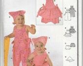 Burda 9737  Burda Easy Baby Girls Coordinates Sewing Pattern