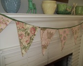 Party Bunting Pennant Flags Banner Garland Pink Party Flags