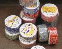 Mihani books- washi tape by Classiky Japan - fellow friends - animals