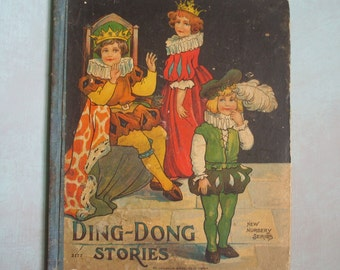 Antique Ding-Dong Stories Nursery Series McLoughlin