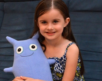 Custom Plush Monster Stuffed Animal - Hexi