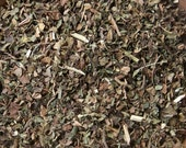 PATCHOULI LEAF (Pogostemon cablin) Certified Organic, Earth Kosher for Rituals Involving Money, Prosperity, Wealth, Binding, Break Bad Habit