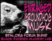 Enraged Groundhog Musk - 5ml -  Perfume Oil - Black Phoenix Alchemy Lab Vintage
