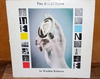 The Art of Noise In Visible Silence Vintage Vinyl Record