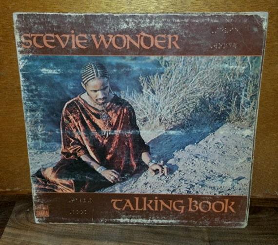 Stevie Wonder Talking Book Vintage Vinyl Album
