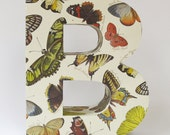 B for butterfly - ready to ship - extra large