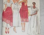 Vintage 1970's Butterick 5387 Dress Sewing Pattern Gil Aimbez Size 12