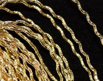 Benton & Johnson Goldwork-Rococco-Gilt metal embroidery thread-choose size