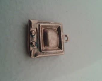 Charm - Vintage 9 kt Gold Charm - TV