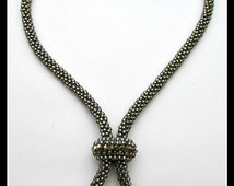 Convertible Kumihimo Necklace PDF Bead Tutorial (INSTANT DOWNLOAD)