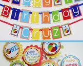 RESERVED for Sophia - Beach Ball Birthday Party
