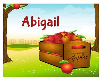 Apples  -  Wall Print (or)  Greeting Cards