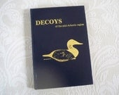 "Vintage ""Decoys of the mid-Atlantic region"" 1979 Hardcover by Fleckenstein"