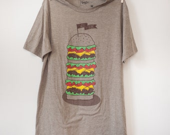 Well Done - Cheeseburger Shirt