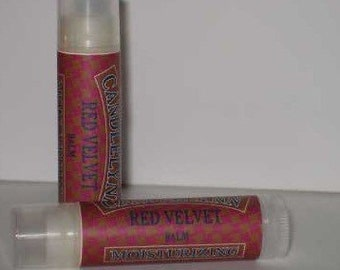 Red Velvet Lip Balm by Candle Lynn - Made with Organic Shea and Cocoa Butters