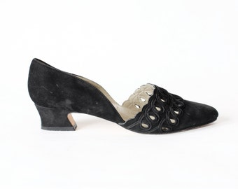 Chunky low heel | Etsy
