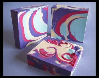 Cranberry Grape Soap For Kids Teens, purple soap, Gift for Her Mom, Sister, Best Friend, Teen Gift, Gift for Wife, Fruity Grape scent