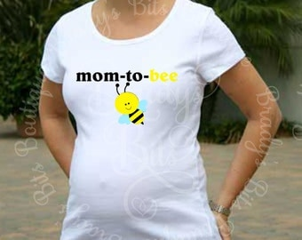 Maternity Shirt - Mom To Be