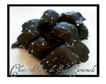 2 Pounds Chocolate Fleur De Sel Caramels