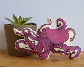 Plush Octopus Toy