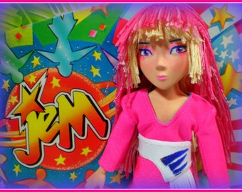OOAK Original Custom order Mary Magpie MudCakes art doll pop culture
