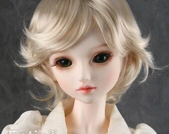 """Fatiao - New Dollfie SD 1/3 BJD Dolls Wig size 8-9"""" - Blonde"""