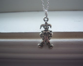 Jester Necklace -Clown Necklace - Court Jester Necklace - Joker Necklace - Free Gift With Purchase