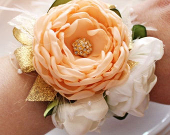 Bridesmaid Prom Wrist Corsage