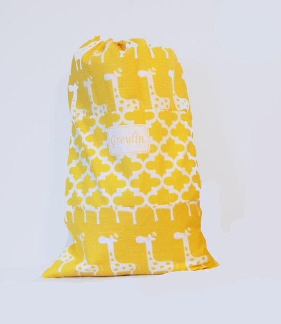 Large Monogrammed Summer Camp Bag, College Grad Laundry Bag, travel laundry bag, college laundry tote bag, graduation gift, big backpack