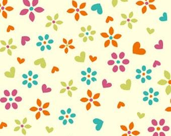Hearts & Flowers- David Textiles