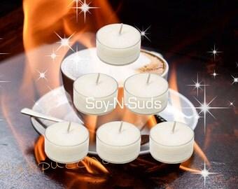 CAPPUCCINO Soy Tea Light Candles