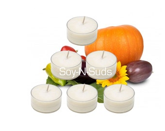 HARVEST Soy Tea Light Candles