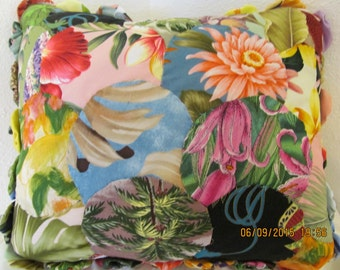 Marianne of Maui's Hawaiian Before and After Yoyo Pillow