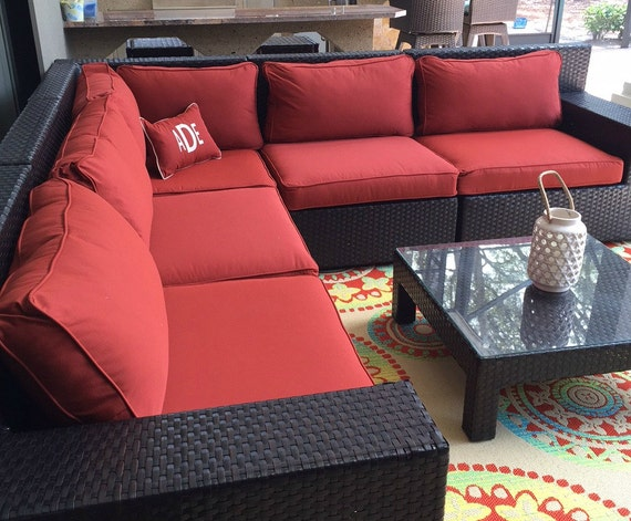 custom outdoor sunbrella cushion covers chair pad outdoor. Black Bedroom Furniture Sets. Home Design Ideas