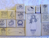 Stampin Up! Country Angel stamp set