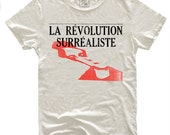 La Revolution Surrealiste, 100 Percent Cotton Vintage White T-shirt, unisex
