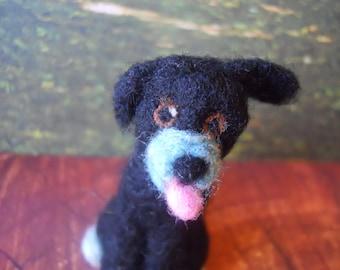 Dog Puppy Needle Felted Wool Kitten Kaboodles & Puppy Doodles Puppy Dog