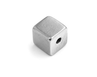 ImpressArt Pewter Cube Charm - Stamping Supplies