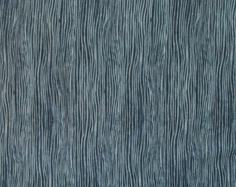In the Beginning Fabrics Teal Wood Grain from the A Walk in the Woods Collection- yards