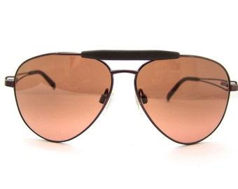 Serengeti  TORINI 7255 Drivers Sunglasses  // Vintage Designer Frames // Aviator style // Corning Optics // Model 7255