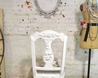 Painted Cottage Chic Shabby French Dining / Desk Chair  CHR500