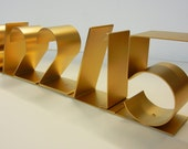 SAVE THE DATE, Personalized commemorative date sculpture for weddings, birthdays, anniversaries