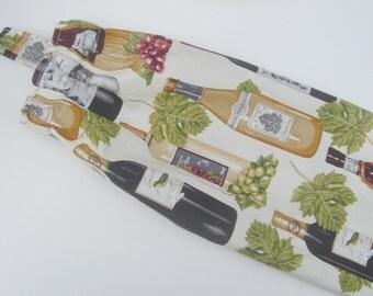 Plastic Grocery Bag Holder Wine Bottles Fabric, Plastic Grocery Bag Storage