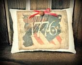 Primitive 1776 Pillow Tuck