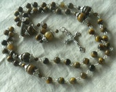 Handmade Tigers Eye Rosary