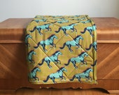 Baby Play Mat. Wild Horses Floor Mat. Eco-Friendly Baby Double Padded Mat.