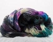 Hand-dyed sock yarn, Repunzel, Galaxy